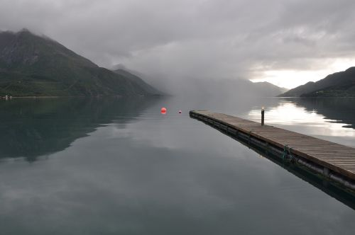 water norway landscape