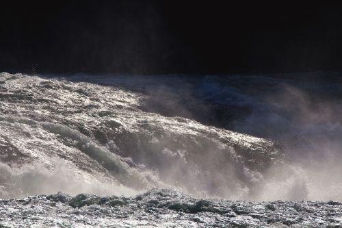 water waterfall roaring