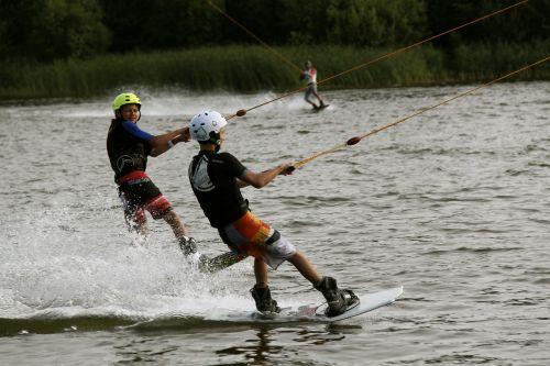 water lake water sports