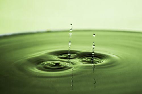 water water drop silver