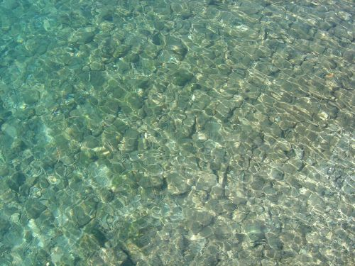 water clear clarity