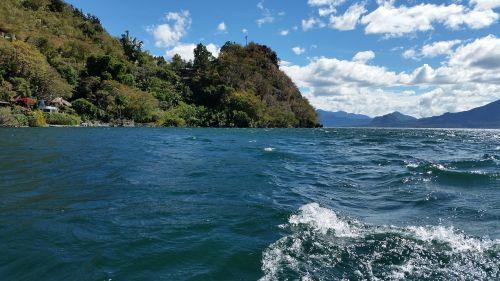 water mountain landscape