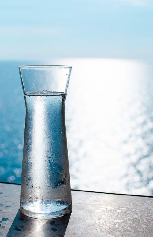 water carafe sea