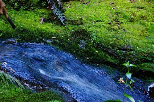 water fluent river