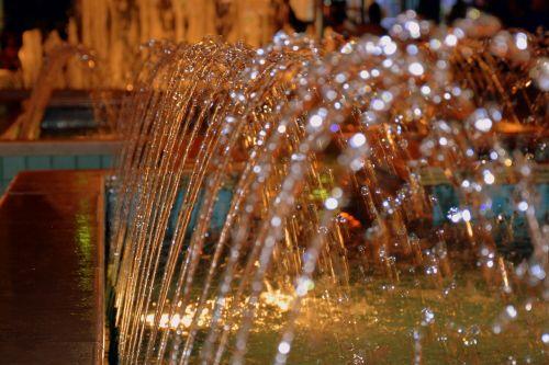 water fontana gush