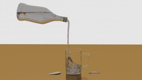 water bottle mug