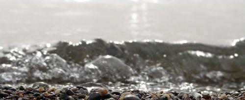 water sea recede