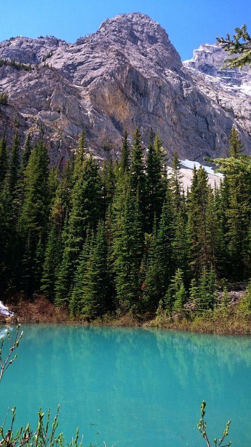 water nature mountain