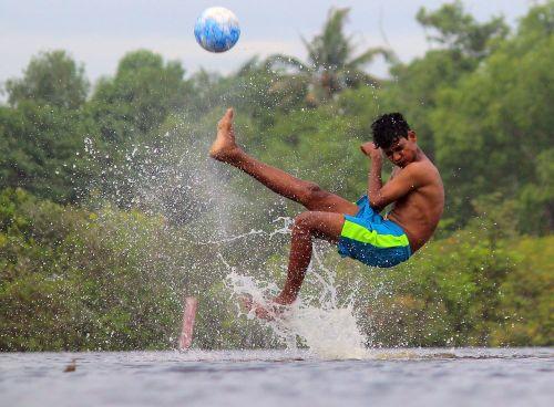 water fun action