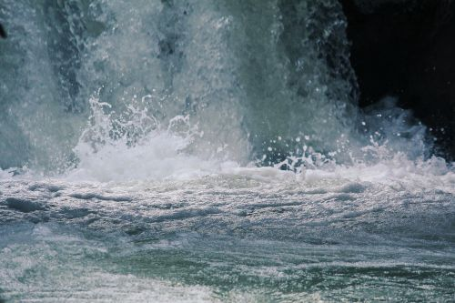 water surf nature