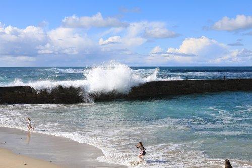 water  sea  seashore