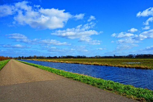 water  canal  road