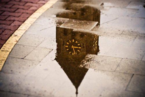 water  mirroring  water level