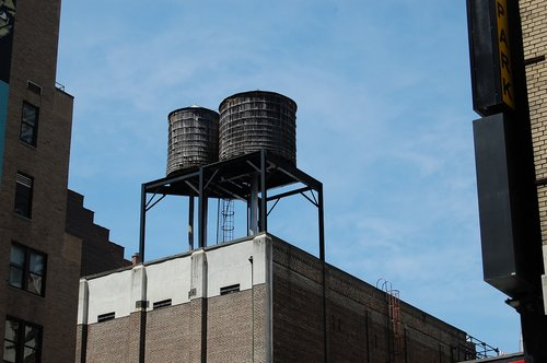water  tank  roof
