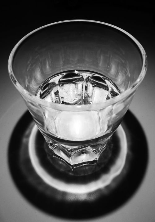 water glass transparent