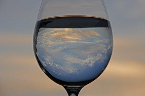 water  water glass  wine glass