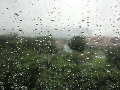 water rain drops