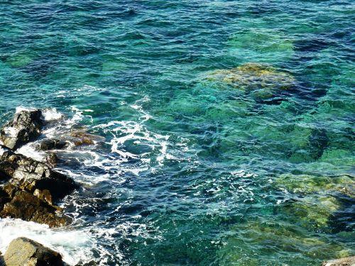 vanduo,jūra,skaidrus,mėlynas,turkis,Rokas,gamta,kraštovaizdis,korsikietis,Viduržemio jūra,bangos,skaidrus vanduo,ramus
