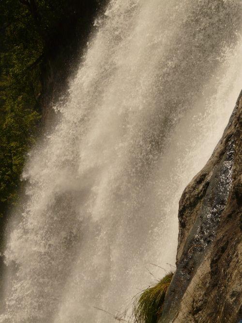vanduo,krioklys,purkšti,vandens masė,vandens masės,partschins krioklys