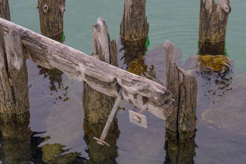 water pile stilt houses