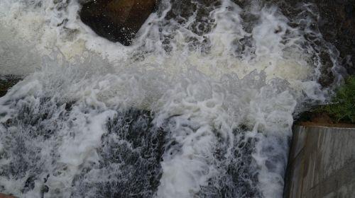 water flowing cold