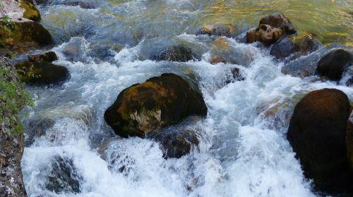 water torrent water courses