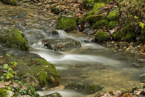 water flow descend