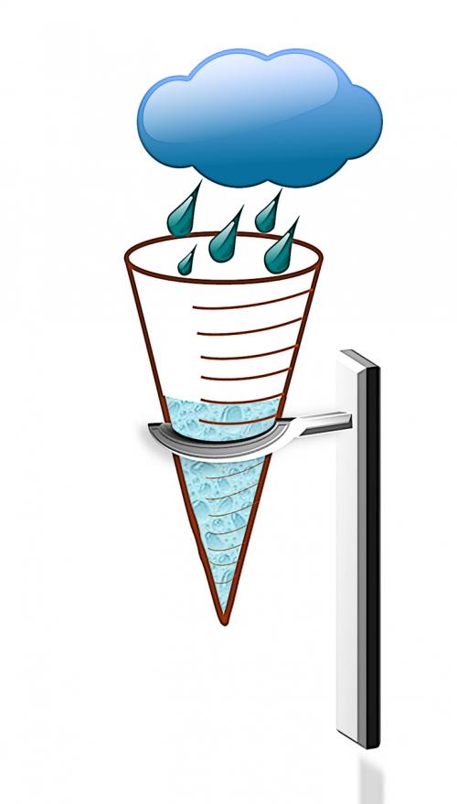 water meter rainfall