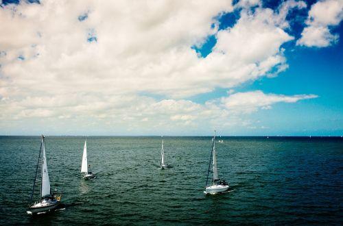 water sailing boats