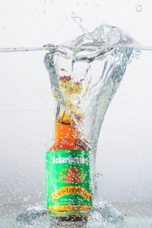 water inject bottle