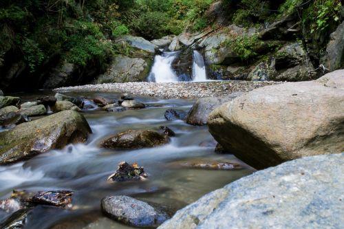 water fluent flow