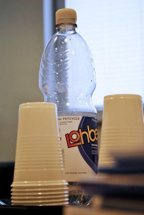 water bottle pet plastic bottle