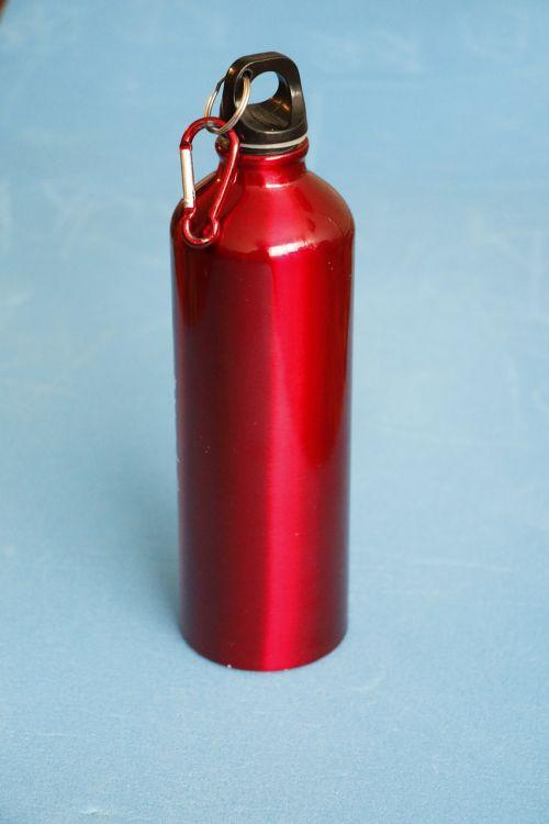 water bottle red bottle water