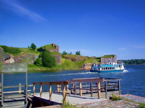 water bus boat pier