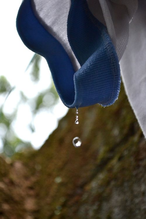 water drop water dripping water