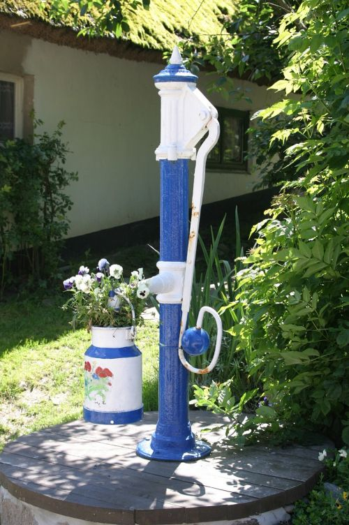 water fountain rügen rügen island
