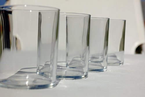 water glass  drinking glass  water glasses