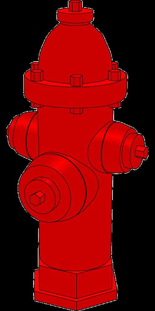 water hydrant extinguish burn