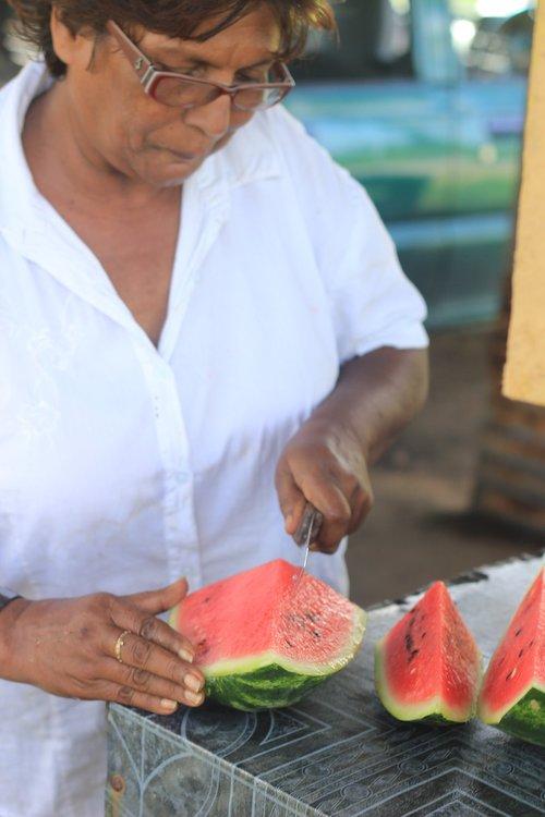 water melon  slice  trinidad