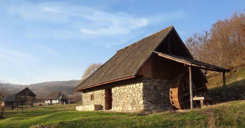 vandens malūnas,muziejus,tradicinis,kaimiškas,senas,kaimas,Šalis,kaimas,istorinis,namas,kaimas,gamta,medinis,liaudies,vintage,vasara,valstietis