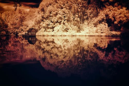 Water Mill Infrared