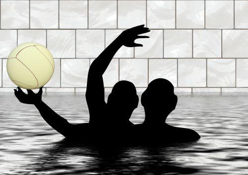 water polo pool ball