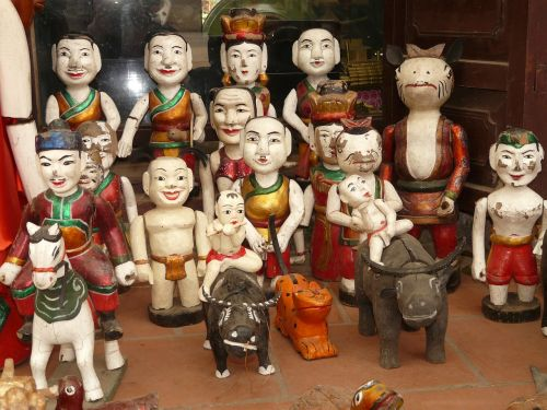 water puppet vietnam hanoi