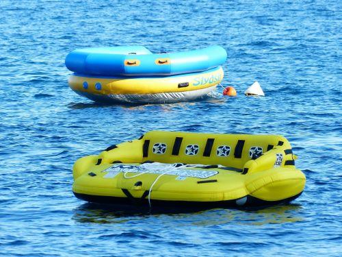 water sofa water sports sea