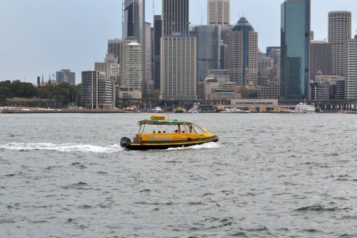 water taxi sydney harbour nsw