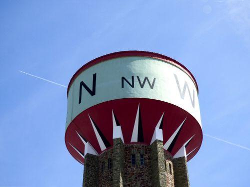 water tower cardinal north