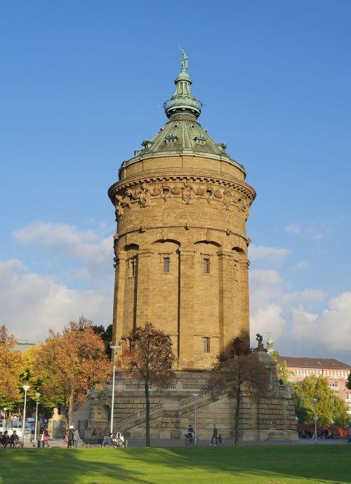 water tower art nouveau mannheim