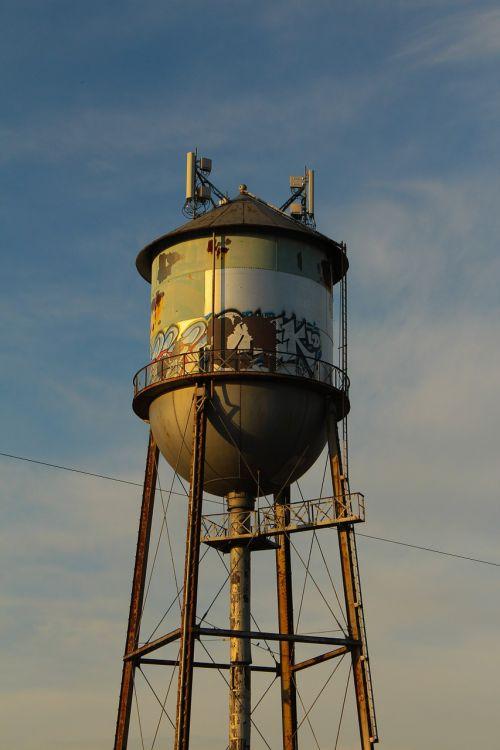 water tower tower urban