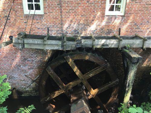 water wheel water mill blades