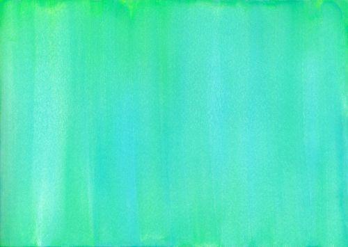 watercolor green teal